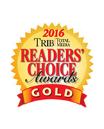 Tribune Review Reader's Choice Award for Best Bridal Shop