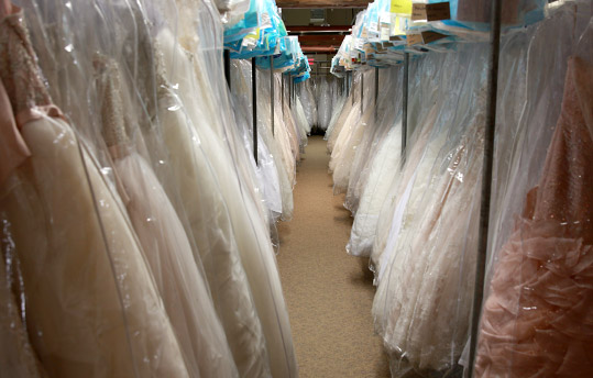 Bridal Dress Storage