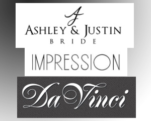 Ashley & Justin, DaVinci and Impressions Bridesmaids Showcase