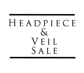 Headpiece and Veil Sale
