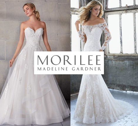 Two beautiful Mori Lee Gowns styles 2207 and 2140