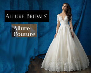 Women wearing Allure style 9731 for Allure and Allure Couture Trunk Shows