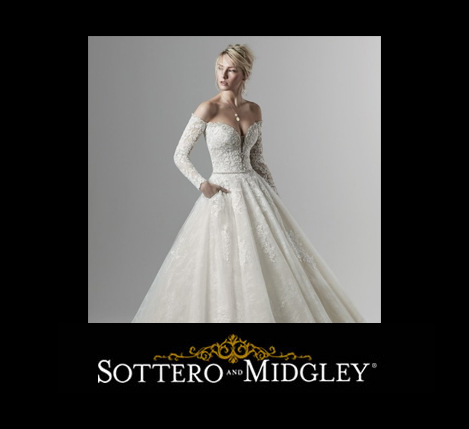 Sottero Midgley Style 9SS868 featured for the Sottero Midgley Trunk Show