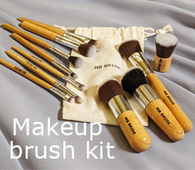 Image of our makeup brush kit