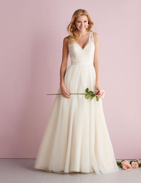 In Stock Wedding Dress 86832 Plus Size
