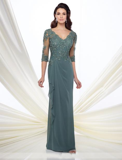 In Stock Mothers Dress 86376