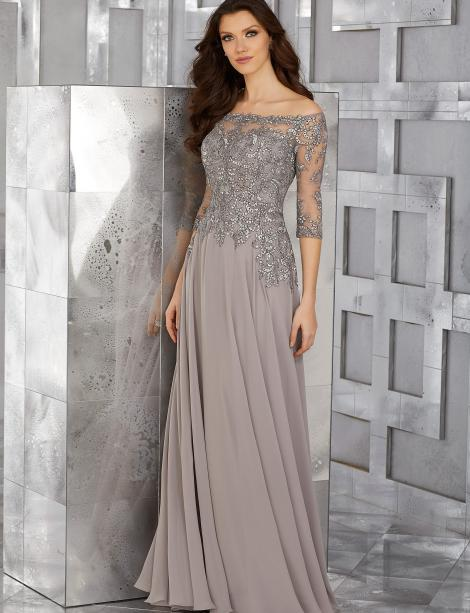 In stock mothers dress SKU 76916