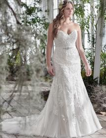In Stock Wedding Dress 87032 Plus Size