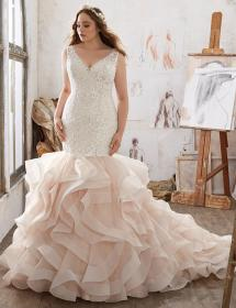In Stock Wedding Dress 85558
