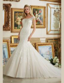 In Stock Wedding Dress 86663 Plus Size