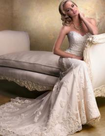 Image of MB Bride bridal bargain style 90250
