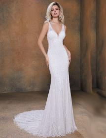 Women modeling MB Bride SKU 75558