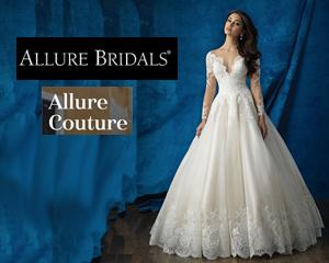 Women wearing Allure style 9731 for Allure Couture Trunk Shows